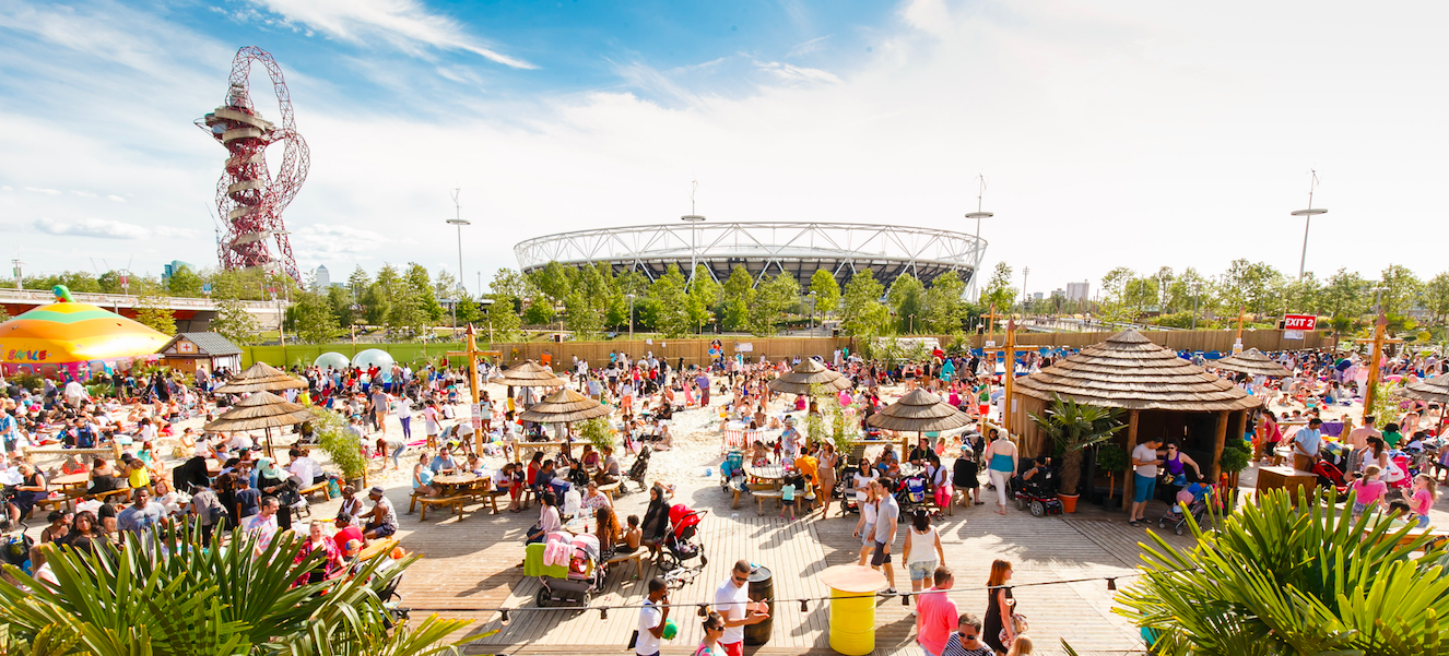 The ultimate guide to london parks that adventurer - Queen elizabeth olympic park swimming pool ...